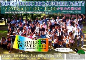 広島市域通所サービス連絡協議会ネットワーク-SUMMER POWER 2014_