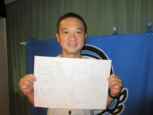 宇佐美雅浩さん 曼荼羅 広島平和プロジェクト