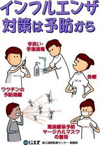 インフルエンザ対策 手洗い うがい マスク着用 プーキープロケア