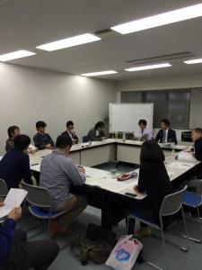広島県中小企業家同友会 中支部青年部5月幹事会