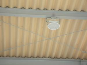 広島市 K様 新設 洗車場LED照明化
