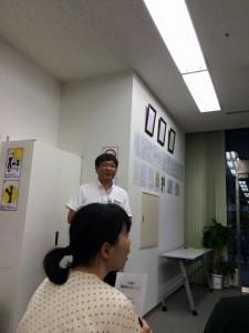 広島県健康福祉局長 笠松氏 若葉会 森さん