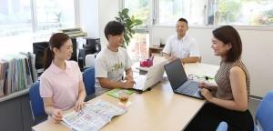 訪問看護リハビリステーションひなた 庚午 広島市西区 会議